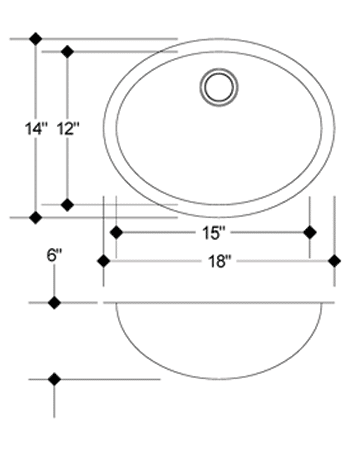 LB-SV-13 measurement stainless steel sink