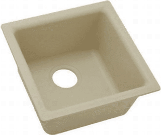 biscuit quartz sink